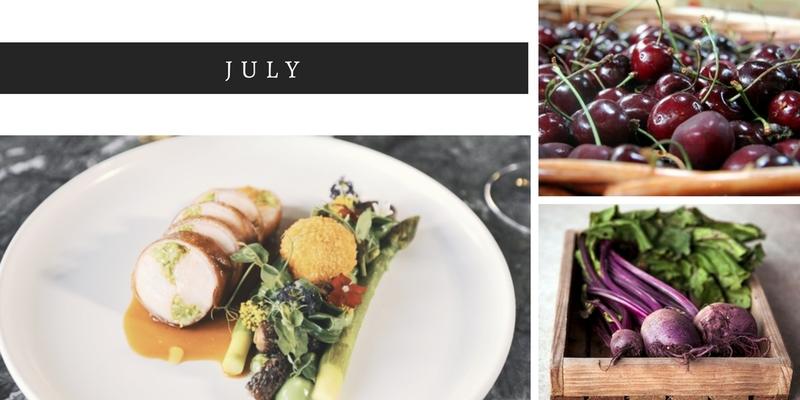 July seasonal food, whats in season in July, seasonal ingredients, Summer foods