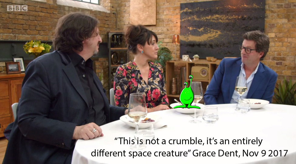 crumble space creature