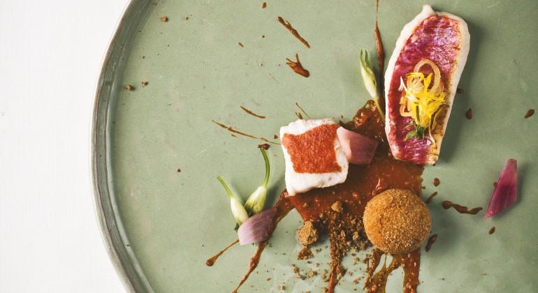 Dish from Hisa Franko