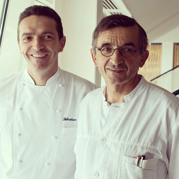 Sebastien Bras and his father, Michel Bras